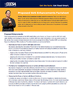 Proposed SMS Enhancements Factsheet