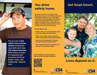 Get Road Smart about CSA: Overview Brochure