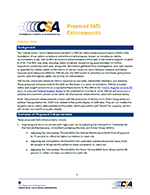 Proposed SMS Enhancements Foundational Document