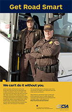 Get Road Smart Enforcement Poster