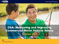 CSA Industry Briefing, Winter 2016