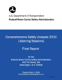 2005 Public Listening Session: Final Report