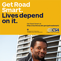 Get Road Smart about CSA: Pocket Cards